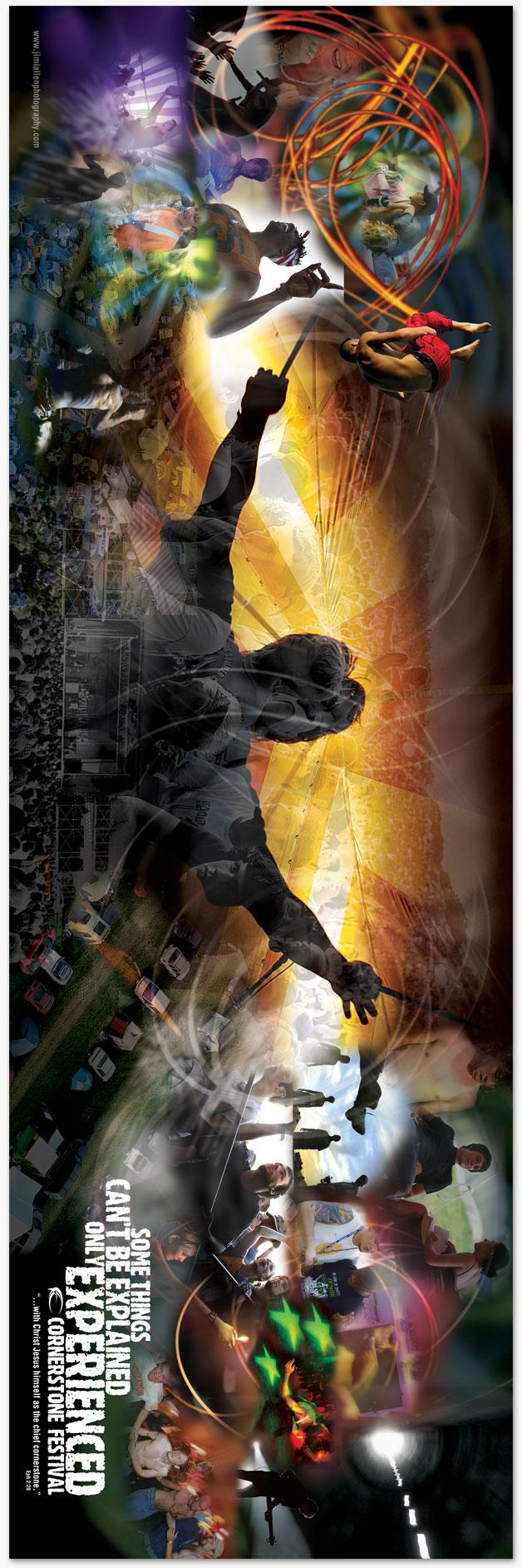 Cornerstone Music Festival Poster