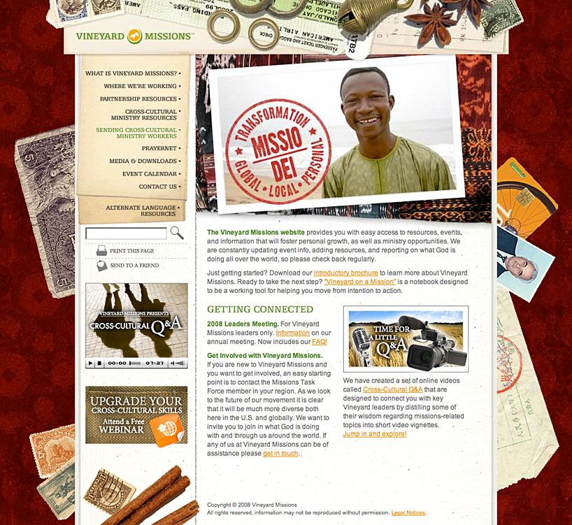 Vineyard Missions Website